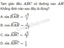 Bài 7 trang 63 SGK Hình học 10