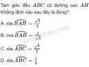 Câu 7 trang 63 SGK Hình học 10