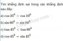 Bài 9 trang 64 SGK Hình học 10