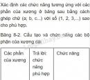 Bài 1 trang 31 SGK Sinh học 8