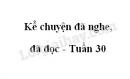 Kể chuyện đã nghe đã đọc trang 117 SGK Tiếng Việt 4 tập 2