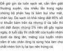 Câu 1 trang 136 sgk sinh lớp 8