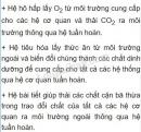 Bài 2 trang 112 SGK Sinh học 8