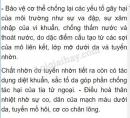 Bài 2 trang 133 SGK Sinh học 8