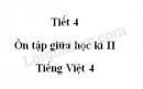 Tiết 4 - Ôn tập giữa học kì II trang 97 SGK Tiếng Việt 4 tập 2
