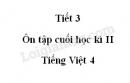 Tiết 3 - Ôn tập cuối học kì II trang 163 SGK Tiếng Việt 4 tập 2