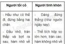 Xem hình 5, em thấy Người tinh khôn khác Người tối cổ ở những điểm nào?