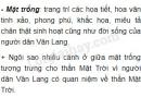 Em hãy mô tả các trống đồng thời Văn Lang.