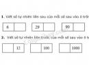 Tiết 14 Bài 1, bài 2  trang 19 sgk Toán 4