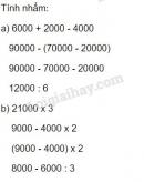 Bài 1 Tiết 3 trang 5 sgk Toán 4
