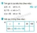 Tiết 4 Bài 1, bài 2  trang 6 sgk Toán 4