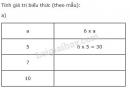 Bài 1 trang 7 SGK Toán 4