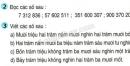 Tiết 11 Bài 2, bài 3  trang 15 sgk Toán 4