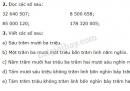 Bài 2, 3 trang 16 SGK Toán 4