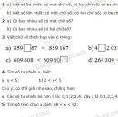 Bài 1, 2, 3, 4, 5 trang 22 SGK Toán 4
