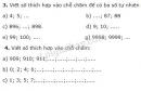 Bài 3, 4 trang 19 SGK Toán 4