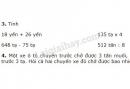 Bài 3, 4 trang 23 SGK Toán 4