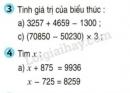 Bài 3, 4, 5 trang 5 SGK Toán 4