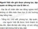 Vì sao người Việt vẫn giữ được phong tục, tập quán và tiếng nói của tổ tiên?