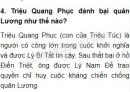 Triệu Quang Phục đánh bại quân Lương như thế nào?