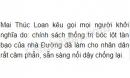 Vì sao Mai Thúc Loan kêu gọi mọi người khởi nghĩa?