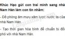 Khúc Hạo gửi con trai mình sang nhà Nam Hán làm con tin nhằm mục đích gì?