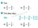 Bài 1, bài 2, bài 3 Tiết 115 trang 127 sgk Toán 4