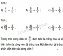 Bài 1, 2, 3 trang 130 SGK Toán 4