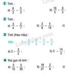 Bài 1, 2, 3, 4, 5 trang 131 SGK Toán 4
