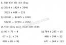 Tiết 36 Bài 1, bài 2, bài 3  trang 46 sgk Toán 4