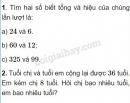 Bài 1, 2, 3, 4, 5 trang 48 SGK Toán 4