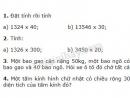 Bài 1, 2, 3, 4 trang 62 SGK Toán 4