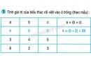 Tiết 56  Bài 1, bài 2 trang 66 sgk Toán 4