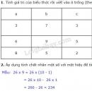Tiết 57 Bài 1, bài 2, bài 3, bài 4  trang 68 sgk Toán 4