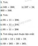 Tiết 64 Bài 1, bài 2, bài 3, bài 4, bài 5  trang 74 sgk Toán 4