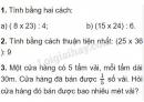 Bài 1, bài 2, bài 3 Tiết 70 trang 79 sgk Toán 4