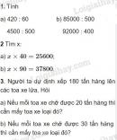 Bài 1, 2, 3 trang 80 SGK Toán 4