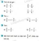 Bài 1, 2, 3, 4 trang 136 (Luyện tập) SGK Toán 4