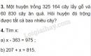 Bài 3, 4 trang 39 SGK Toán 4
