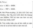 Bài 3, 4, 5 trang 41 SGK Toán 4