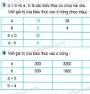 Tiết 32 Bài 3, bài 4  trang 42 sgk Toán 4