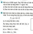 Tiết 36 Bài 4, bài 5  trang 46 sgk Toán 4