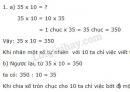 Lý thuyết nhân một số với 10, 100, 1000,... Chia cho 10, 100, 1000,...