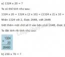 Lý thuyết nhân với số có tận cùng là chữ số 0