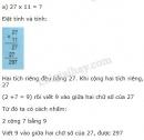 Lý thuyết giới thiệu nhân nhẩm số có hai chữ số với 11