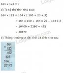 Lý thuyết nhân với số có ba chữ số