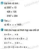 Bài 1, bài 2, bài 3, bài 4, bài 5  trang 163 sgk Toán lớp 4