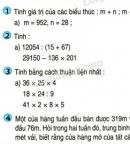 Bài 1, bài 2, bài 3, bài 4, bài 5  trang 164 sgk Toán lớp 4