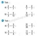Bài 1, bài 2, bài 3, bài 4, bài 5  trang 167, 168 sgk Toán 4