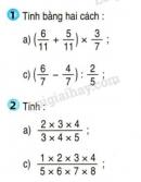 Bài 1, bài 2, bài 3, bài 4, bài 5 trang 169 sgk Toán 4